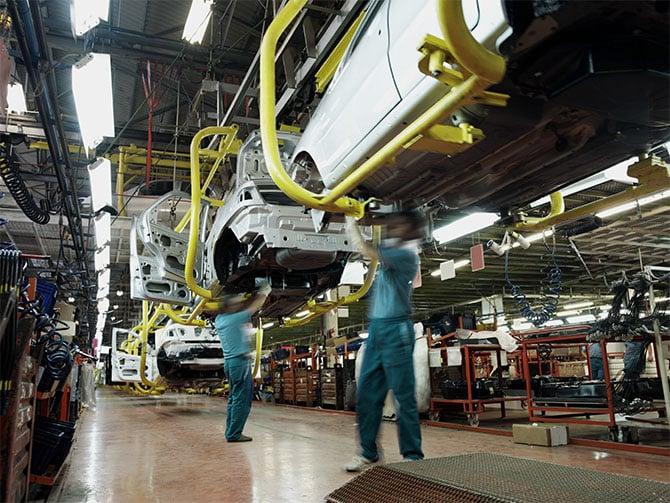 Dein Kunststoff Autobau Fertigung Industrie