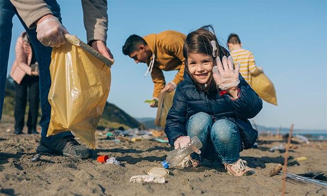 Dein Kunststoff Plastikmuell Sammeln Rohstoff