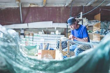 Dein Kunststoff Fischzucht Aquakulturen Fischereinetze